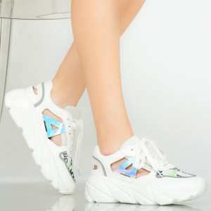 Miu fehér női tornacipő
