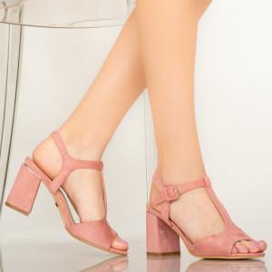 Női szandál Dalu rózsaszín
