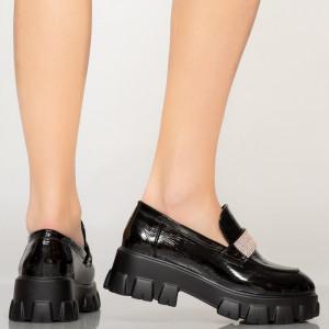 Pantofi casual Arco negri
