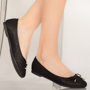 Pantofi casual Lenu negri