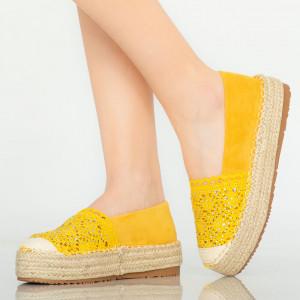 Pantofi casual Mondy galbeni