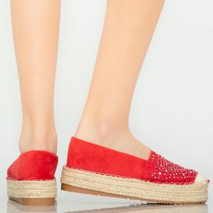 Pantofi casual Mondy rosii
