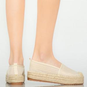 Pantofi casual Pasy bej