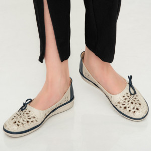 Pantofi dama Aco albastri