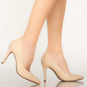 Pantofi dama Ask bej