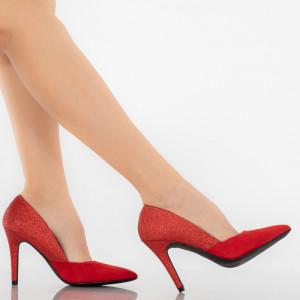 Pantofi dama Marcia rosii