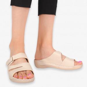 Papuci dama Aes bej