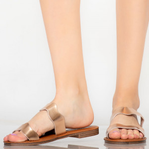 Papuci dama Wolf roze