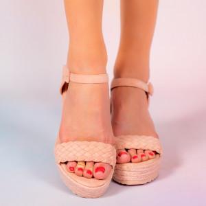 Platforme dama Mote roz