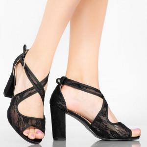 Sandale dama Aso negre