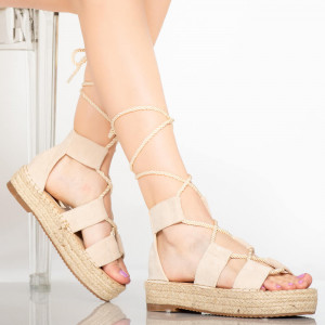 Sandale dama Del bej