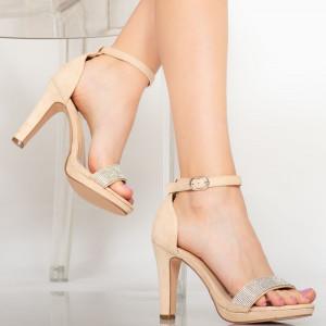 Sandale dama Edu bej
