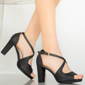 Sandale dama Elio negre