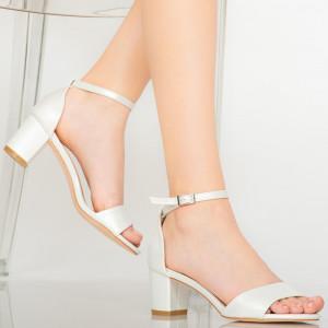 Sandale dama Inez argintii