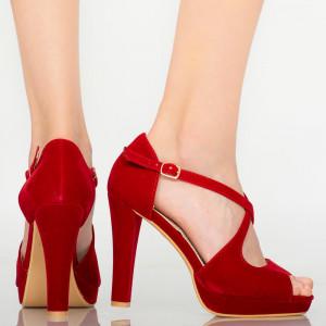 Sandale dama Lord rosii