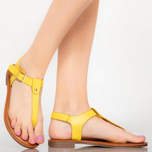 Sandale dama Nole galbene