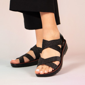 Sandale dama Paki negre