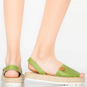 Sandale dama Sodi verzi