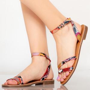 Sandale dama Sou rosii