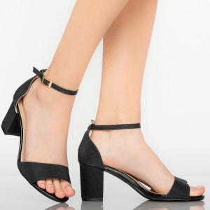 Sandale dama Temple negre