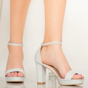 Sandale dama Upia argintii