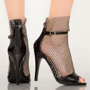 Sandale dama Yaco negre