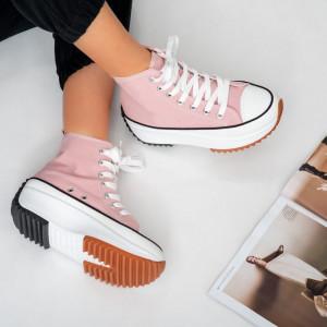 Sneakersi dama Goas roz