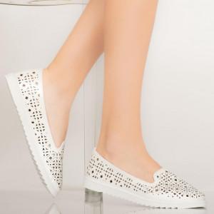 Alkalmi Vela fehér cipő