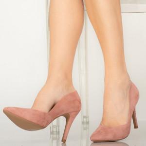 Druna rózsaszín női cipő