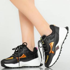 Fekete gyöngy cipők
