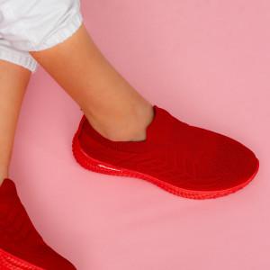Női piros Lany cipők
