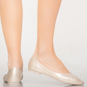Pantofi casual Pary crem