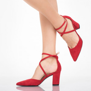 Pantofi dama Lysandra rosii