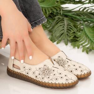 Pantofi dama Mirar bej