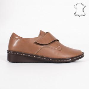 Pantofi Piele Naturala KAS Nude