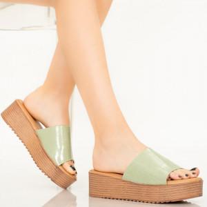 Papuci dama Dia verzi