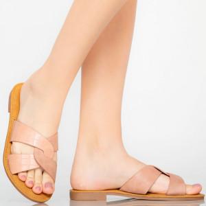 Papuci dama Eman roz