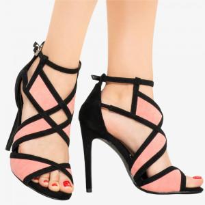 Pink Bexy women's sandals