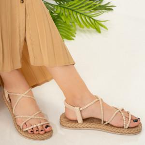 Sandal lady Nalida beige