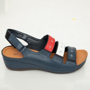 Sandale dama Aco bleumarin