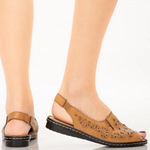 Sandale dama Biru camel
