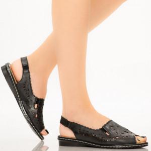 Sandale dama Biru negre
