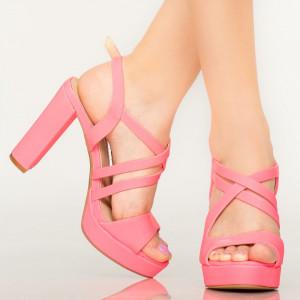 Sandale dama Digo fucshia