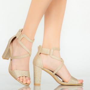 Sandale dama Echo aurii