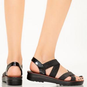 Sandale dama Elara negre