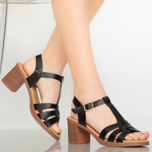Sandale dama Gale negre