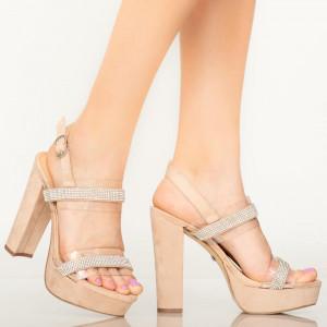 Sandale dama Grif bej