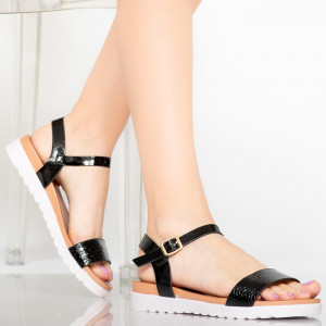 Sandale dama Isba negre