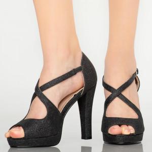 Sandale dama Koa negre
