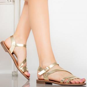 Sandale dama Rika aurii
